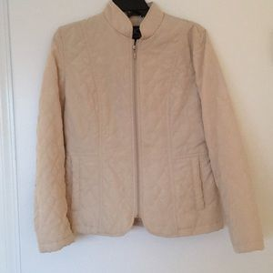 Jackets & Blazers - NWOT Light Brown Quilted Jacket